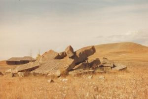 Sandstone near Glenbow Store 1983 Theo Mitchell