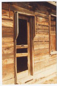 Glenbow Store doorway 1983 Theo Mitchell