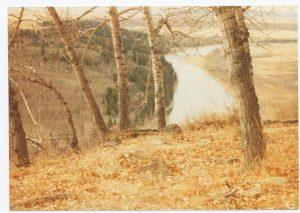 Near Glenbow Quarry 1983 Theo Mitchell
