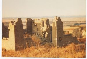 Stevenson house ruins 1983 Theo Mitchell