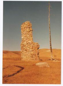 Waverly Ranch chimney 1983 Theo Mitchell