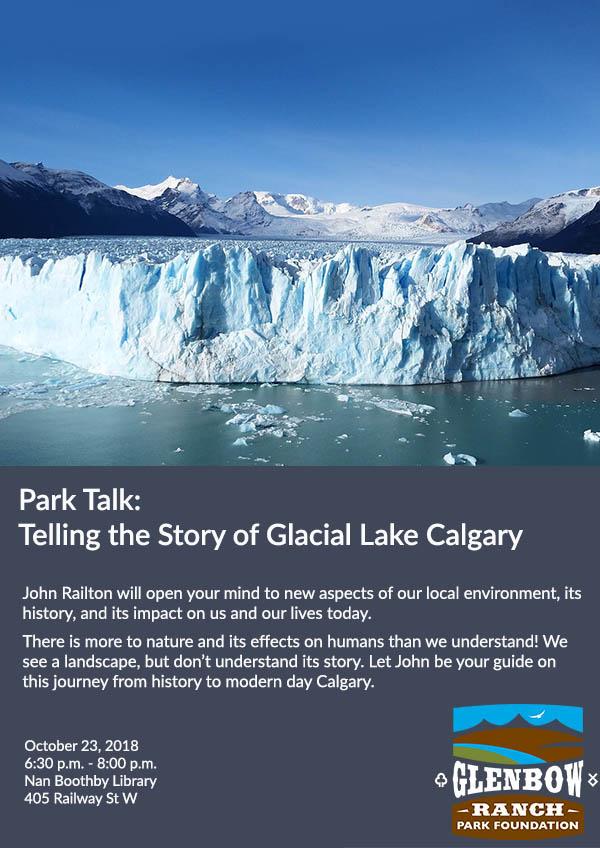 Park Talk: Glacial Lake Calgary