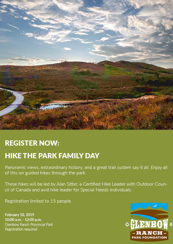 Event Registration: Hike the Park