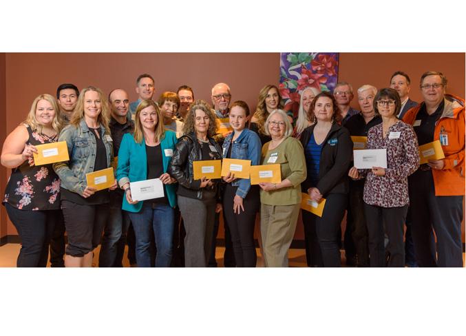 Cochrane Eagle: GRPF Receives Grant from Cochrane Foundation