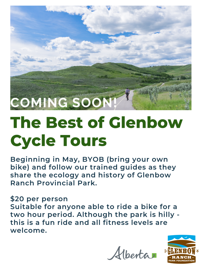 News: Coming Soon!! The Best of Glenbow Bike Tours