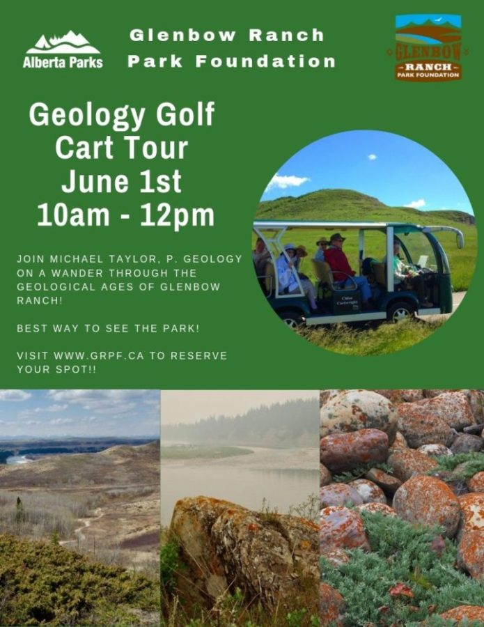 News: Don't Miss Out on our Geology Golf Cart Tour!