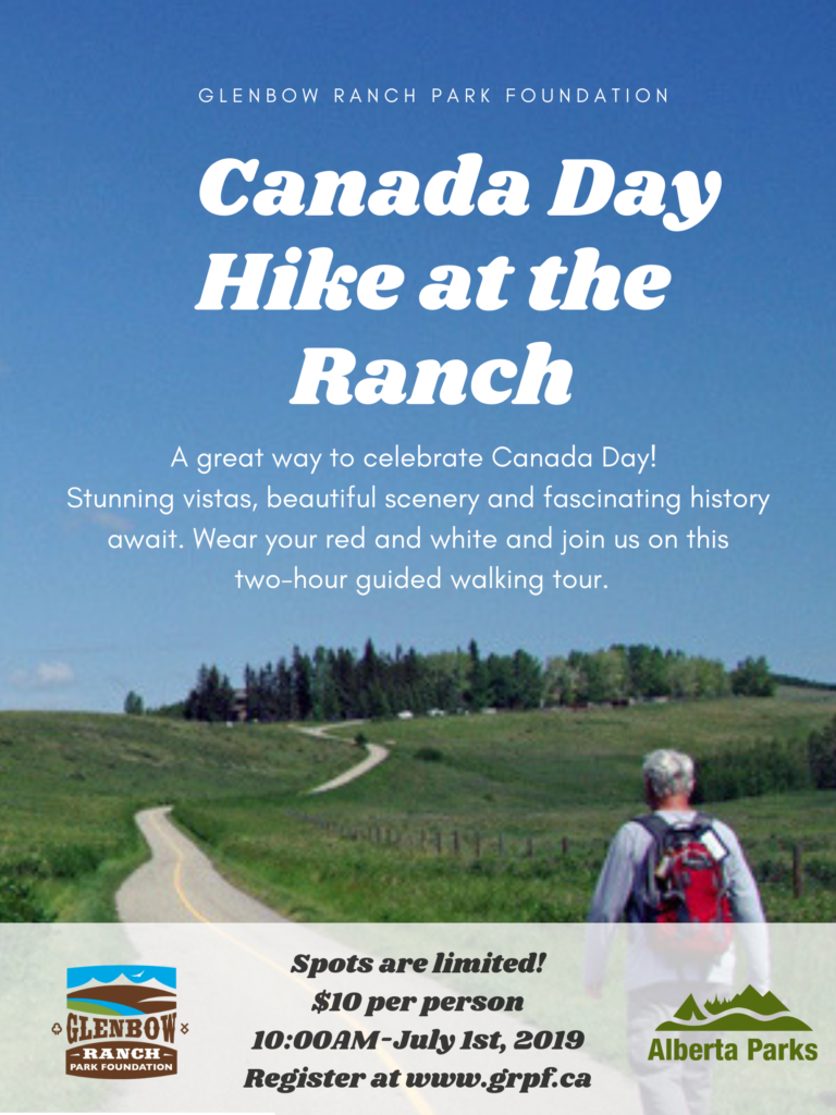 Event: Canada Day Hike at the Ranch